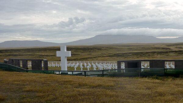 El Cementerio de Darwin en Malvinas (archivo) - Sputnik Mundo