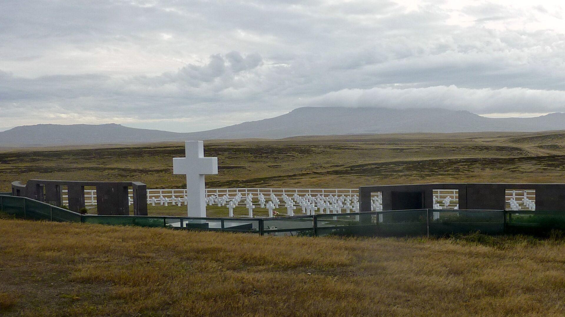 El Cementerio de Darwin en Malvinas - Sputnik Mundo, 1920, 19.08.2021