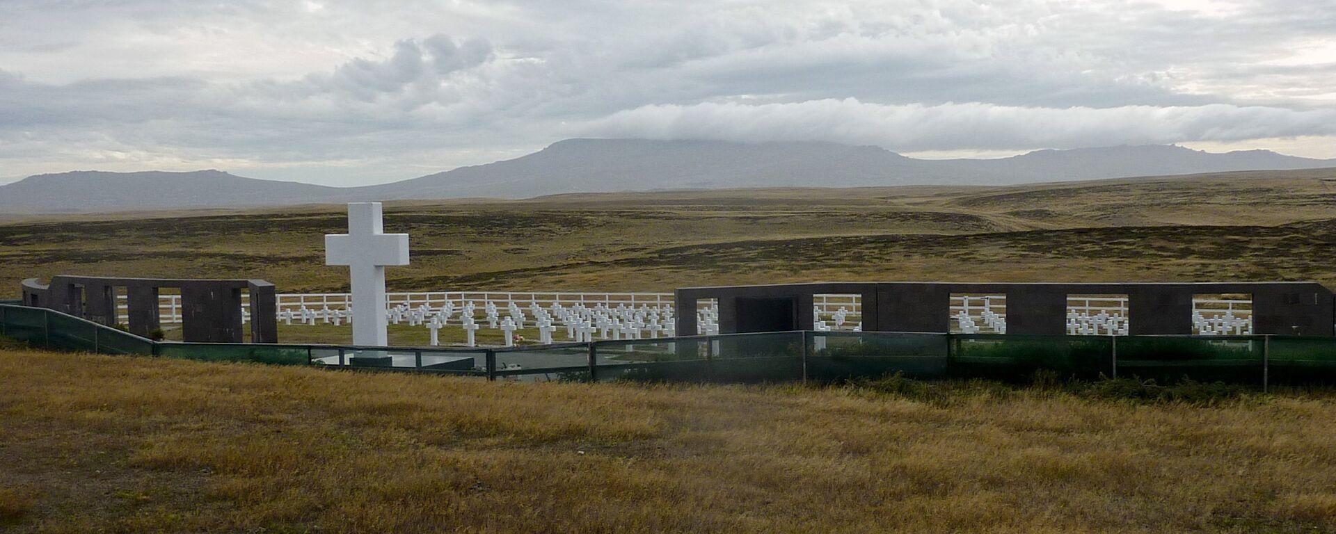El Cementerio de Darwin en Malvinas - Sputnik Mundo, 1920, 09.08.2021