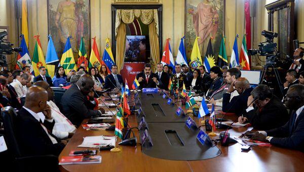 Cumbre del ALBA en Caracas, Venezuela (archivo) - Sputnik Mundo