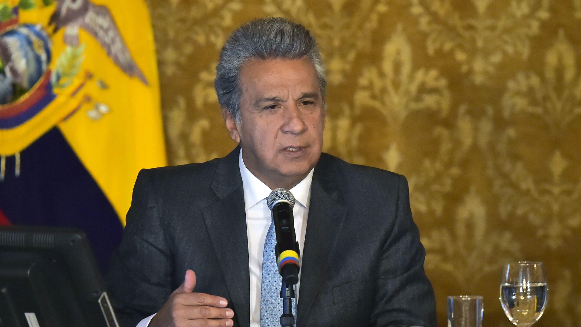 Lenín Moreno, presidente de Ecuador (archivo) - Sputnik Mundo, 1920, 09.03.2021