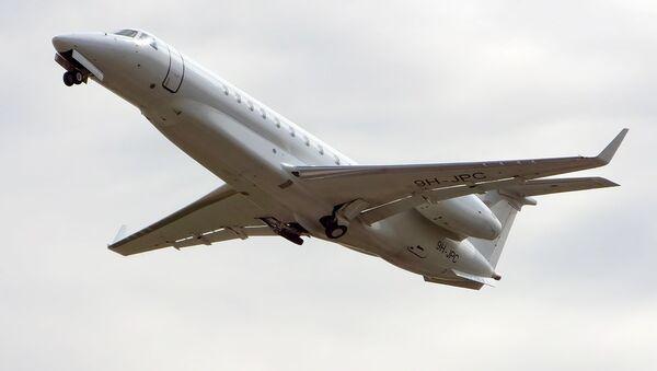 Avión privado (imagen referencial) - Sputnik Mundo