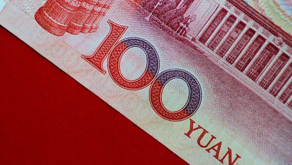 Billete de 100 yuanes - Sputnik Mundo