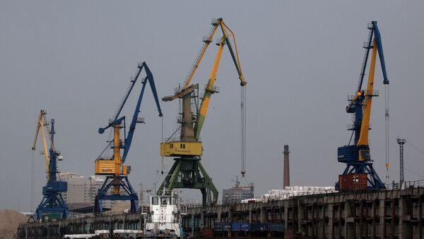 Puerto ruso de Blagovéschensk - Sputnik Mundo