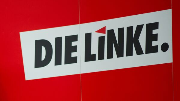 El logo del partido Die Linke (la Izquierda) - Sputnik Mundo