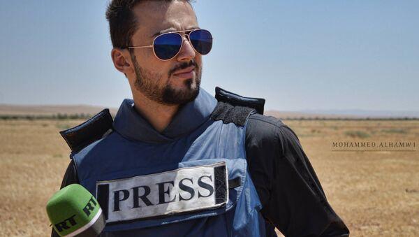Jaled Jatib, colaborador de la cadena RT fallecido en Siria - Sputnik Mundo