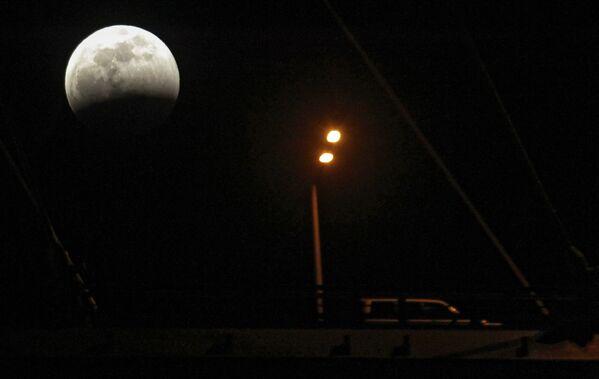 Un fenómeno planetario: las mejores fotos de la 'Luna de sangre' - Sputnik Mundo