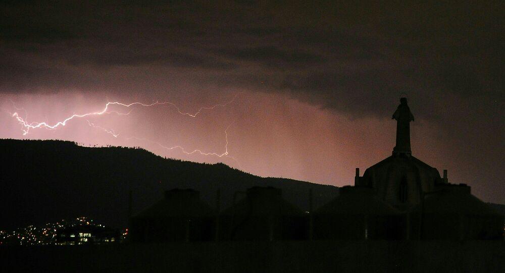 La tormenta Franklin