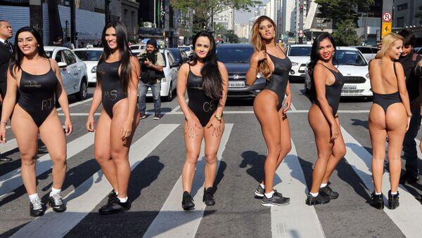 Las finalistas del concurso de belleza anual Miss BumBum - Sputnik Mundo