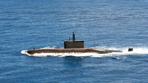Submarino surcoreano Chang Bogo perteneciente al proyecto Type 209 (imagen referencial) - Sputnik Mundo