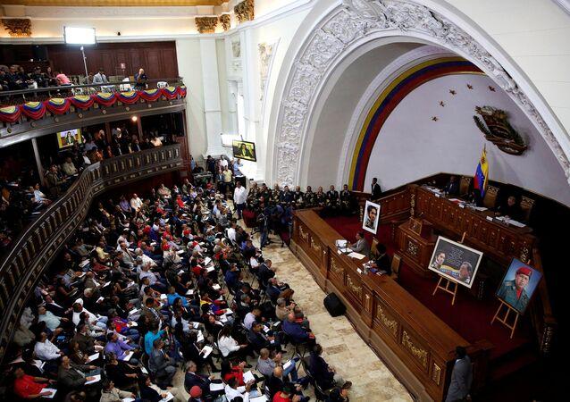 Sesión de la Asamblea Constituyente de Venezuela