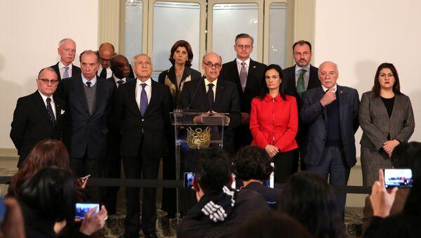 Ministros de Exteriores de los países americanos en Lima, Perú - Sputnik Mundo