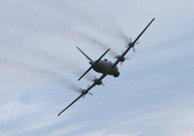 Avión Il-38N de guerra antisubmarina