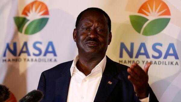 Raila Odinga, líder de la oposición keniana - Sputnik Mundo
