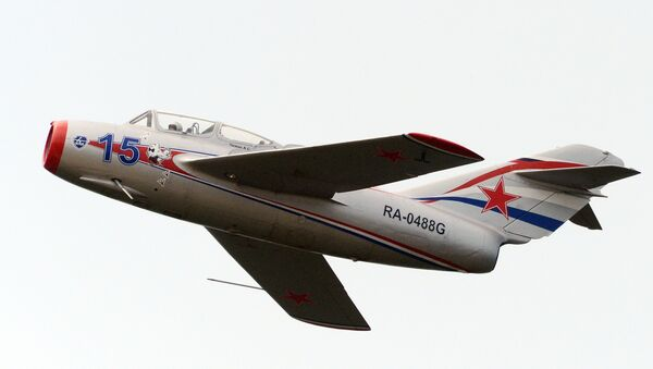 El caza soviético MiG-15 - Sputnik Mundo