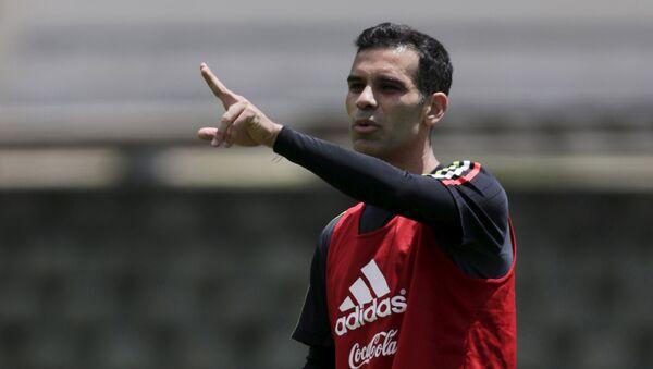Rafael Márquez, futbolista mexicano - Sputnik Mundo