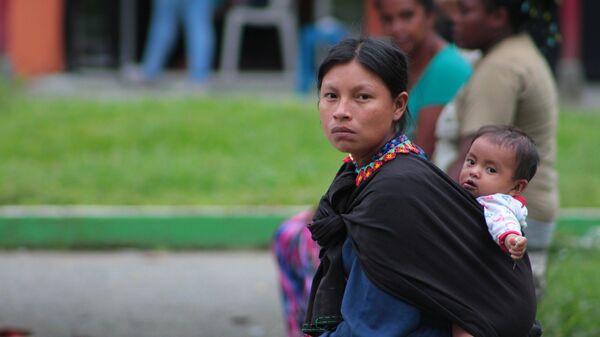 Una mujer indígena (archivo) - Sputnik Mundo