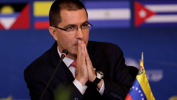 Jorge Arreaza, el canciller de Venezuela - Sputnik Mundo
