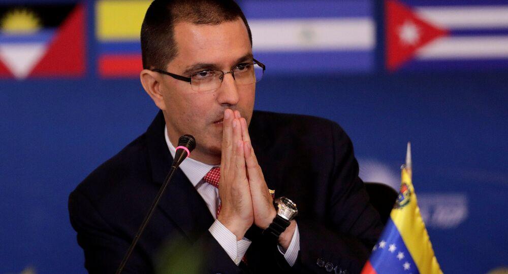 Jorge Arreaza, el canciller de Venezuela (archivo)