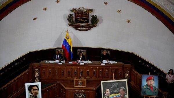Sesión de la Asamblea Constituyente de Venezuela (Archivo) - Sputnik Mundo