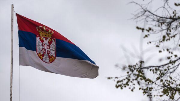Bandera de Serbia - Sputnik Mundo