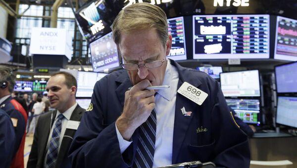 La Bolsa de Valores de Nueva York - Sputnik Mundo