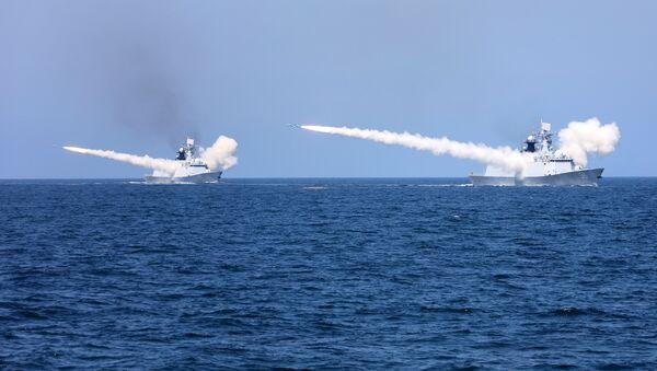 Las maniobras de China en el mar Amarillo - Sputnik Mundo
