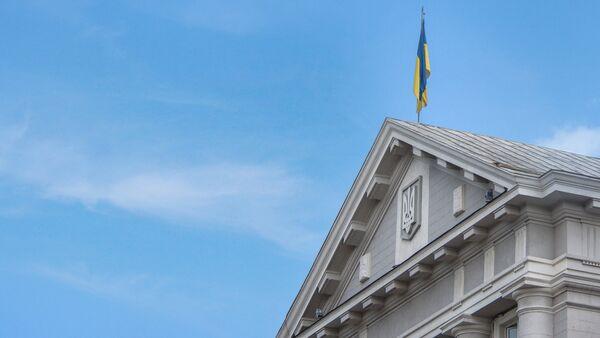 La bandera de Ucrania - Sputnik Mundo