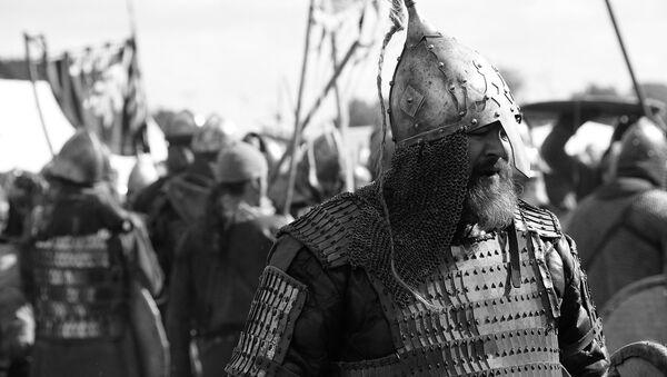 Un guerrero eslavo (imagen referencial) - Sputnik Mundo