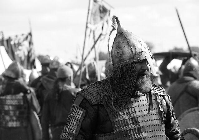 Un guerrero eslavo (imagen referencial)
