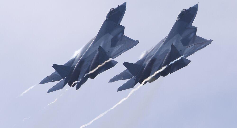 Caza ruso de quinta generación Su-57
