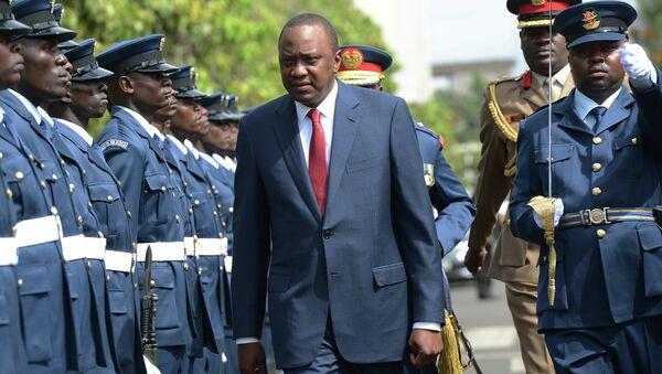 Kenya's President Uhuru Kenyatta - Sputnik Mundo