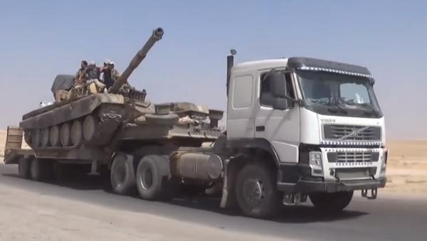 Las ofensivas del Ejército sirio buscan cortar los suministros de armas a los terroristas - Sputnik Mundo