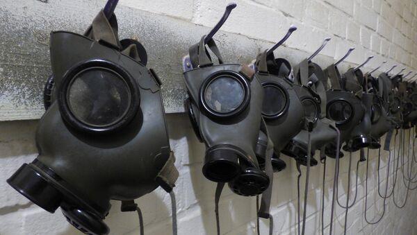 Máscaras antigás (archivo) - Sputnik Mundo