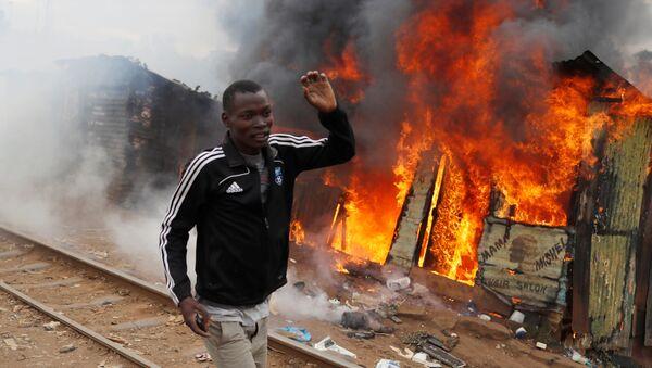 Protestas en Nairobi - Sputnik Mundo