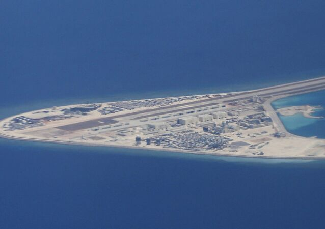Islas Spratly en el mar del Sur de China (archivo)