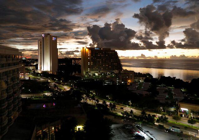 La isla de Guam