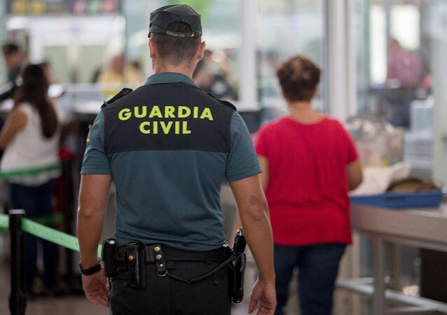 Agente de la Guardia Civil (archivo)