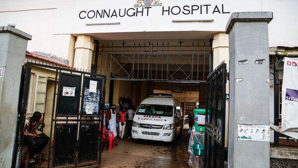 Hospital Connaught, Sierra Leona - Sputnik Mundo