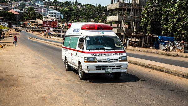 Sierra Leone ambulance. (File) - Sputnik Mundo