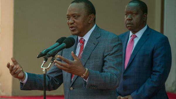 Uhuru Kenyatta, presidente electo de Kenia - Sputnik Mundo