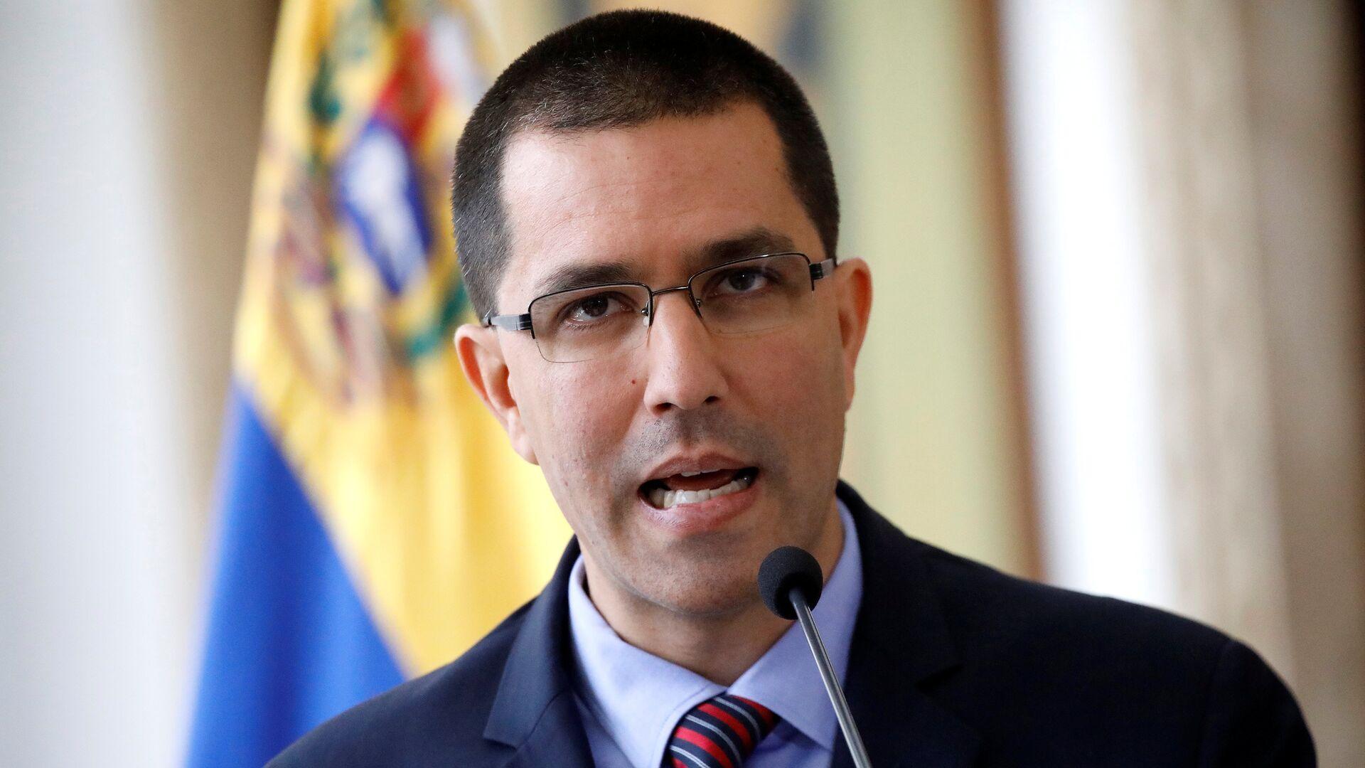 Jorge Arreaza, el canciller de Venezuela - Sputnik Mundo, 1920, 10.08.2021