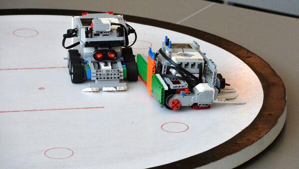 Una competición de robótica (archivo) - Sputnik Mundo