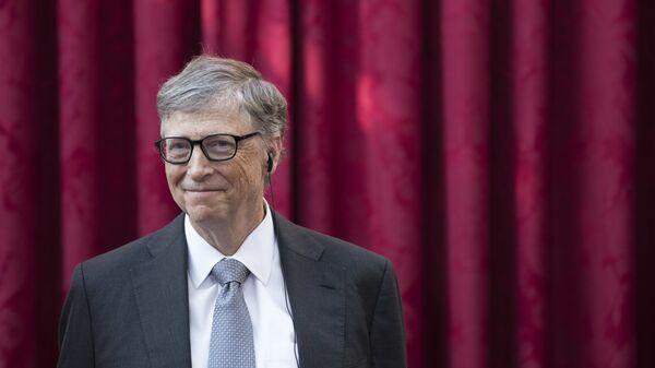 Bill Gates, cofundador de Microsoft - Sputnik Mundo