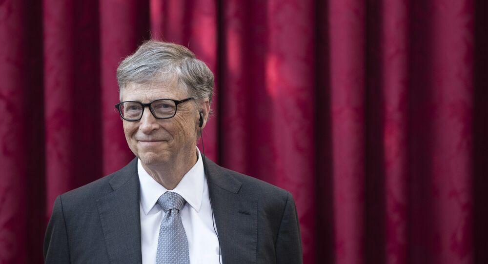 Bill Gates, cofundador de Microsoft