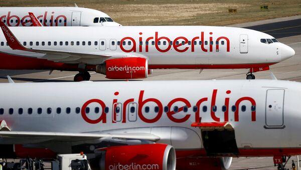 Aviones de la aerolínea Air Berlin - Sputnik Mundo