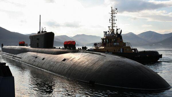 El submarino nuclear Vladímir Monomaj de la clase Borei - Sputnik Mundo