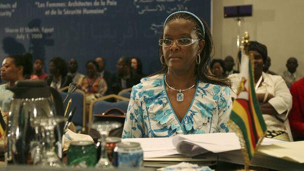 Grace Mugabe, la primera dama de Zimbabue - Sputnik Mundo
