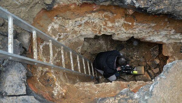 Habitación secreta en las antiguas murallas de Moscú - Sputnik Mundo