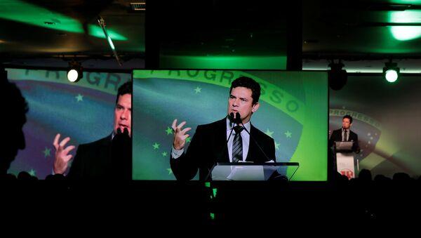 Sérgio Moro, exjuez federal brasileño - Sputnik Mundo